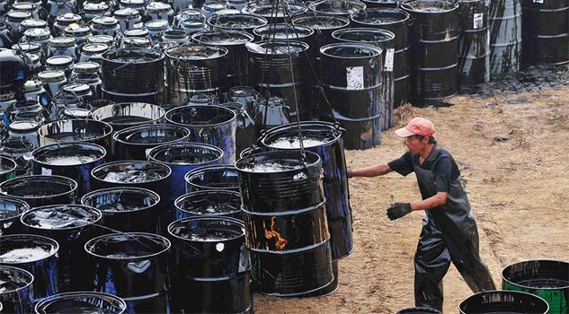 Exportación de crudo de Pemex cae en marzo