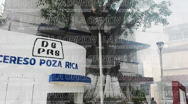 Fumigan el CERESO de Poza Rica