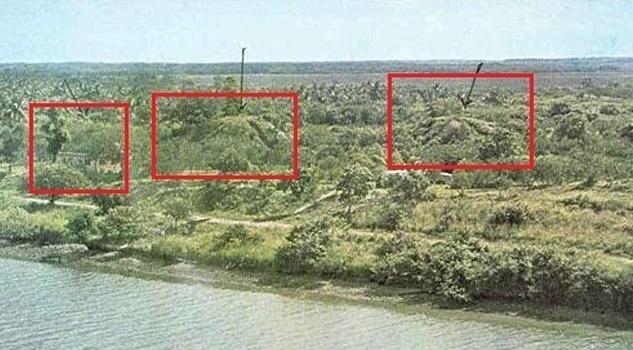 Gobierno oculta la zona arqueológica