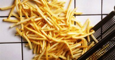 Japón sufre por una crisis de papas fritas