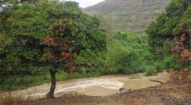Lluvias garantizan el servicio de agua