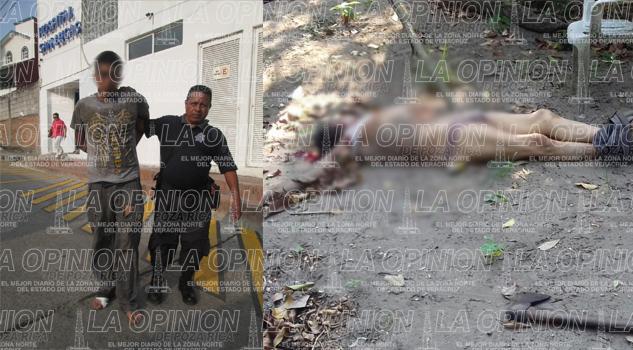 Lo asesinan a machetazos; homicida es detenido