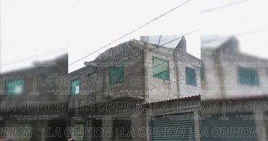 Más de diez casas del Sector 4 Totolapa se quedaron sin techo