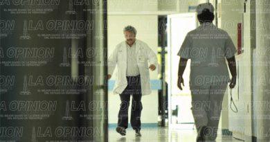 Médicos dejan el Hospital Regional