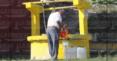 No hay agua en Reforma Escolín