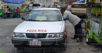 Piratas invaden zona centro de Tihuatlán