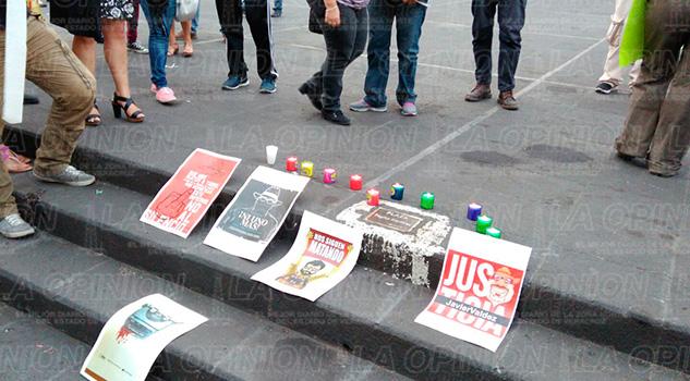 Protestan Exigen Justicia Agresiones Asesinatos