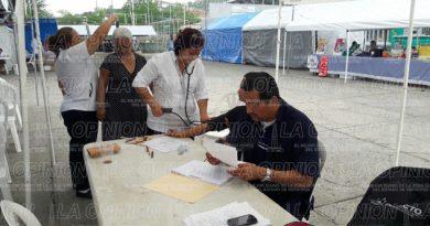 SS-VER realiza jornadas de salud en las jurisdicciones de la Zona Norte