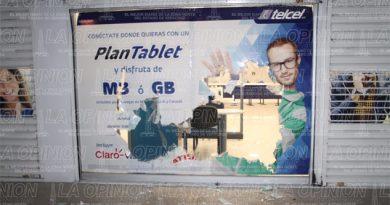 Saquean centro de atención a clientes de Telcel