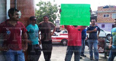 Taxistas tuxpeños piden la destitución de Delegado de Transporte Público