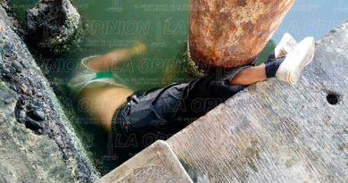 Tuxpan Hombre Muerto Flotando Río
