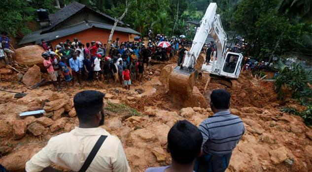Van 91 muertos y 110 desaparecidos por inundaciones en Sri Lanka