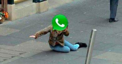 WhatsApp se cae