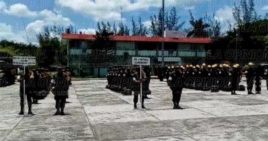 400 elementos integran la Fuerza Militar para el Plan DN-III-E