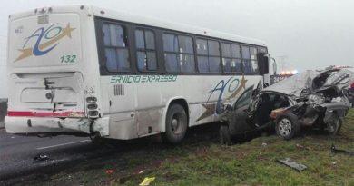 Accidente en Circuito Exterior Mexiquense deja seis muertos