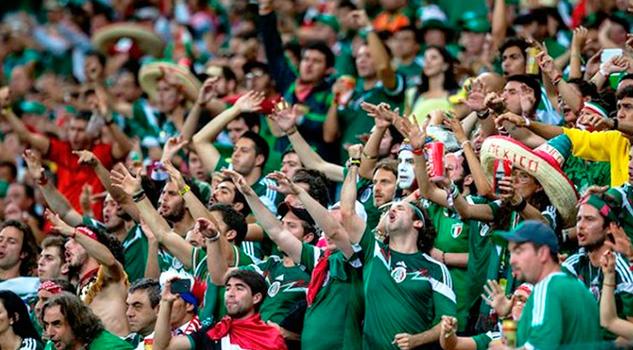 Afición México Grito