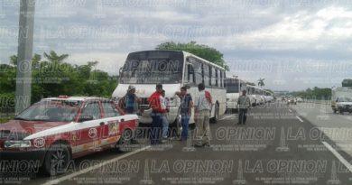 Amotac se une a manifestación en Ciudad de México