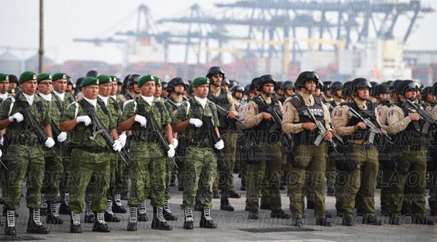 Analiza Policía Militar a Tuxpan