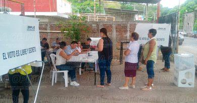 Baja Incidencia Votantes Coatzintla