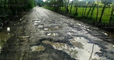Camino de Chichilintla a Santa Ana en pésimas condiciones