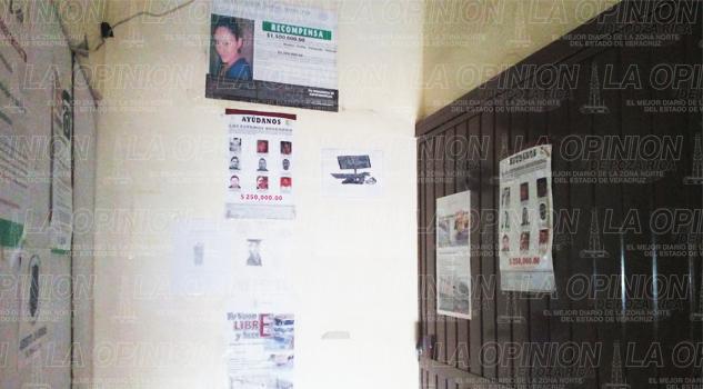 Cerrada la Fiscalía Municipal de Cerro Azul