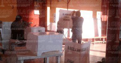 Ciudadanos tuxpeños siguen a la espera de ejercer su voto