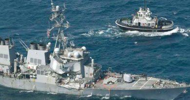 Colisión USS Fitzgerald