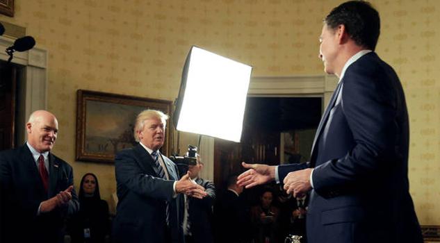 Comey documentó sus encuentros con Trump