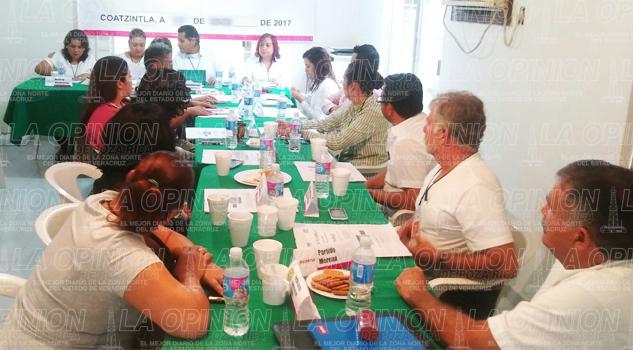 Concluyó la sesión del OPLE en Tihuatlán