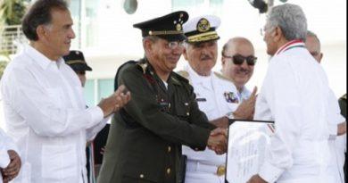 Confía subsecretario de la Sedena en recuperar la seguridad en Veracruz