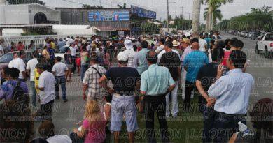 Continúan las protestas por resultados electorales en Tuxpan