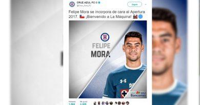 Cruz Azul Jugador Chileno Fichaje Felipe Mora