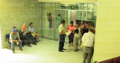 Deficiencias en clínica del IMSS