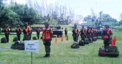 Demostración del Plan DN-III-E en Tuxpan