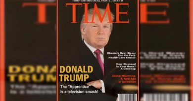Falsa la portada de Trump en Time