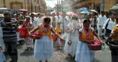 Feligresía papanteca celebra Jueves de Corpus Christi