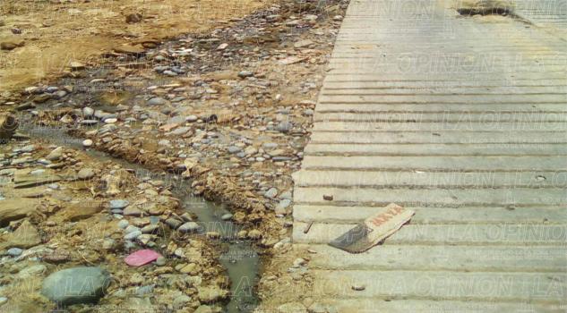 Grave contaminación en Filomeno Mata