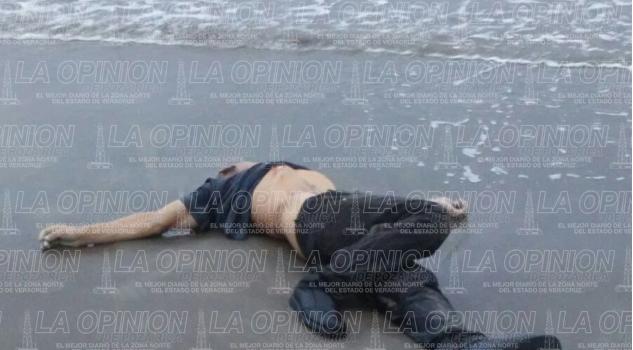 Hallan cadáver en la playa de Tecolutla