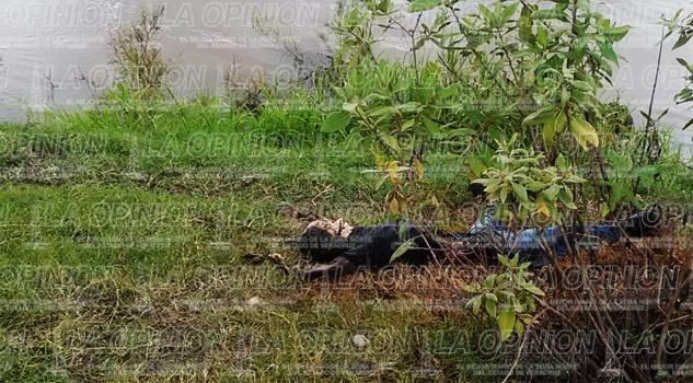 Hallan cuerpo descarnado en el río Remolino