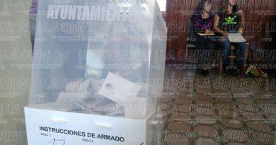 Hasta el momento así lucen las casillas en Xalapa