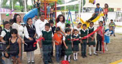 Inauguran Ampliación del Centro Comunitario de Los Sauces