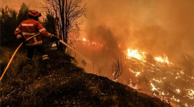 Incendio en Portugal no ha sido controlado