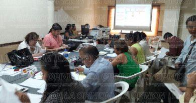 Inicia recuento de 22 paquetes electorales en el OPLE Poza Rica