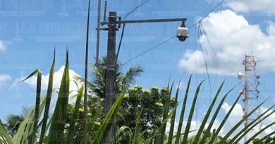 Instalarán 100 cámaras de video vigilancia en Poza Rica