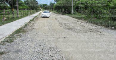 Intransitables el camino al río Pantepec