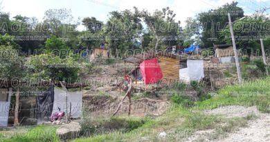 Invaden área verde en la colonia Ignacio Zaragoza