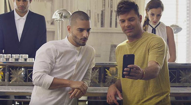 Maluma y Ricky Martin tuvieron ardiente encuentro