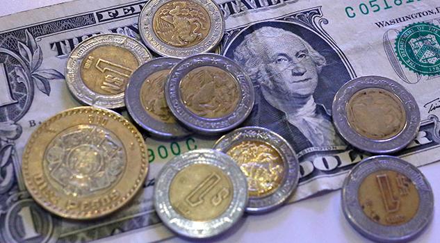 Moneda mexicana alcanza niveles no vistos