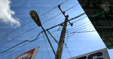 Peligro por líneas de alta tensión
