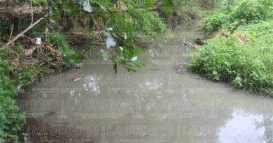 Persiste problema de contaminación en el arroyo de Platón Sánchez
